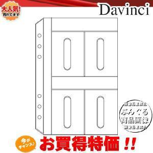 【A5サイズ】Davinci リフィル「A5サイズ・アクセサリー」カードホルダー DAR321【ダ・ヴィンチ】レイメイ藤井|bungle