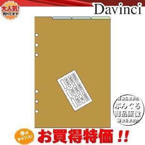 【A5サイズ】Davinci リフィル「A5サイズ・アクセサリー」カラーインデックス(4区分)DAR508【ダ・ヴィンチ】レイメイ藤井|bungle