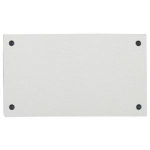 キングジム/デジタルメモ「ポメラ」DM20専用着せ替えパネル (DMS20シロ・リザードホワイト) pomera|bungle