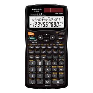 SHARP・シャープ スタンダード関数電卓 (EL-509F-X) 10桁 253関数・機能 bungle