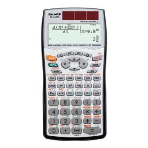 SHARP・シャープ プログラマブル関数電卓 (EL-5160S-X) 10桁 295関数・機能 bungle