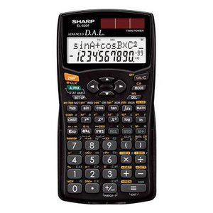 SHARP・シャープ スタンダード関数電卓 (EL-520F-X) 10桁 284関数・機能 bungle