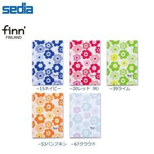 【全5柄/L判】セキセイ  finn'(フィンダッシュ) カバーアルバム〈高透明〉 40枚収容(FINN-7404)/sedia/花柄|bungle