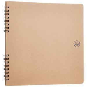 セキセイ/ふうあい スクラップブック コラージュ向き クラフト台紙 (FU-2161) 懐かしいセキセイマークを表紙にデザイン sedia|bungle