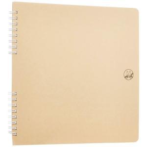 セキセイ/ふうあい スクラップブック 書き込み向き クラフト台紙 (FU-2163) 懐かしいセキセイマークを表紙にデザイン sedia|bungle