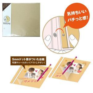 セキセイ ホックアルバム用 スペア台紙(スケッチフリー)5枚入り(HK-83-41)/sedia bungle