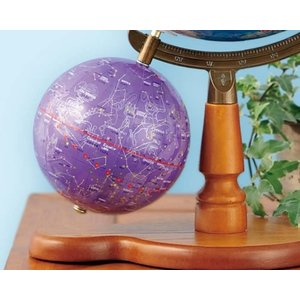 【送料無料】帝国書院 N26-5WII(行政)天球儀付 直径26cm地球儀/星座図を示した天球儀付き(N26-5W2)【知育玩具】【入学祝い】【クリスマス】 bungle 03