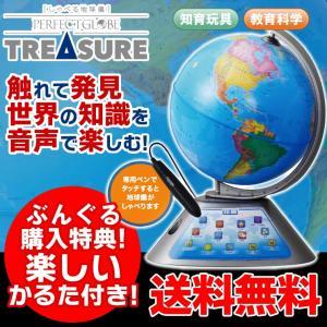 今ならかるた付き!しゃべる地球儀 パーフェクトグローブ トレジャー PG-TR15 お試用電池付 き!おしゃべりする地球儀 ドウ シシャ|bungle