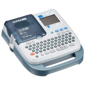 【即納在庫有】キングジム/ラベルライター「テプラ」PRO SR330 ライトグレー【本体】オフィス向けベーシックモデル(4〜24mm幅対応) bungle
