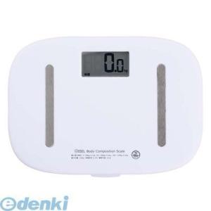体重、体脂肪率、基礎代謝、BMIが測定できます。スリム&シンプルデザイン1ボタンでラクラク測...