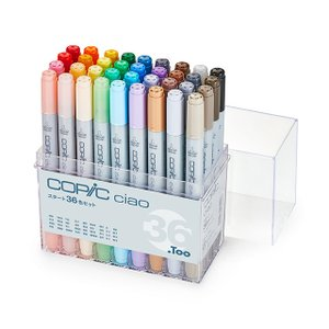 .TOO コピックチャオ 36色Aセット COPIC