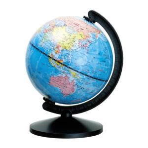 【ギフトに最適】机の上にピッタリのコンパクトサイズ地球儀!小さくても国名が見やすい! デビカ グローバ地球儀13|bungu-mori