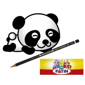トルコの筆記具メーカー「PENSAN」☆ キュートなパンダがプリントされたかわいい鉛筆 パンダ鉛筆HB 12本1帯|bungu-mori