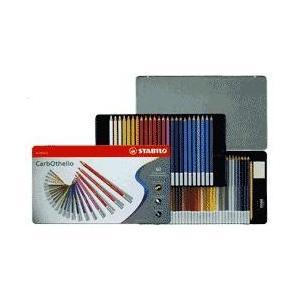 スタビロ カーブオテロ パステル色鉛筆 60色セット 名入れ無料 プレゼント お祝い 画材|bungu-mori
