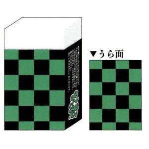 カミオジャパン JAPANESQUE まとまるくん消しゴム いちまつ模様 和柄|bungu-mori