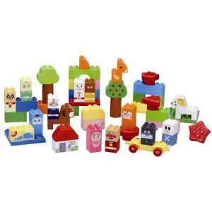 みんな大好きなアンパンマンのブロック。ブロックを組み立てることで創造性と想像性が育まれます。大きなタ...