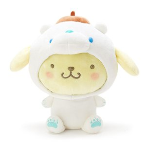 サンリオ ポムポムプリン ぬいぐるみ シロクマ(氷フレンズ) プレゼント グッズ コレクション