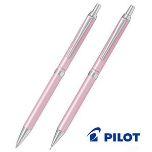 贈り物に★ パールカラーのスリム軸 パイロット カヴァリエ2本(ボールペン・シャープペン)セット|bungu-mori