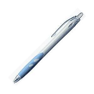 【企業PR・イベント配布】名入れボールペン パイロット 美しいフォルムを持つノック式油性ボールペン レックスグリップ(白軸)1000本|bungu-mori