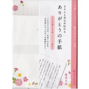 真心を込めて送るありがとうの手紙 学研ステイフル レターセット お礼状パックレター 縦書き用