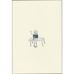 【ネコポス便可】山本紙業 ポストカード 活版印刷の懐かしい味わい  POST CARD 大人の一服 GA602|bungu-mori