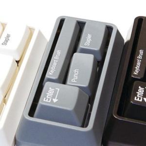 パソコンのキーボード? いいえ、ステーショナリーです! デスク回りの必需品がセットになったキーボード・ステーショナリーセット|bungu-mori