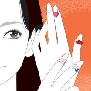 つけるだけで女子力アップ かわいいものしかつけたくない女性の毎日を応援する プラス 指サック・メクリッコsweet Mサイズ bungu-mori