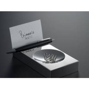 高級デスクアクセサリー 最高の品質を貴方に ステンレスを極めた PRIMARIO Vestige 小物入れ PM08|bungu-mori
