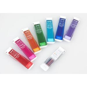 新発売 カラーシャープ替芯なのに、消しゴムで驚くほどきれいに消せる 全7色+全色入りMIX 好みで選べる全8種類 三菱鉛筆 ユニナノダイヤ カラ|bungu-mori