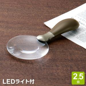 ノンフレームルーペ・LEDライト付  (LUP200)|bungu-style
