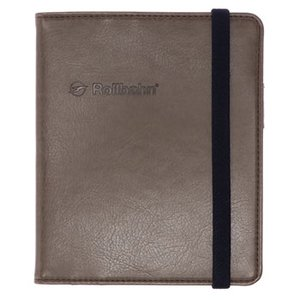 デルフォニックス ロルバーン ポケット付メモ カバー M ダークブラウン 500596-178の商品画像|ナビ