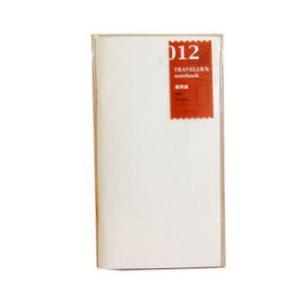トラベラーズノート レギュラーサイズ 012 画用紙 14286006