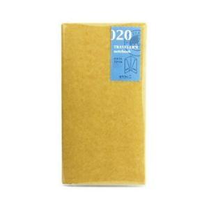 トラベラーズノート レギュラーサイズ 020 クラフトファイル 14332006