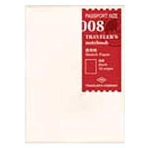 デザインフィル トラベラーズノート パスポートサイズ リフィル 画用紙 14372006