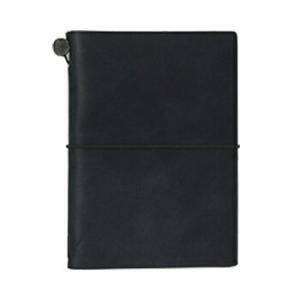 トラベラーズノート パスポートサイズ 黒  メーカー品番 15026006※メール便で発送可能です。
