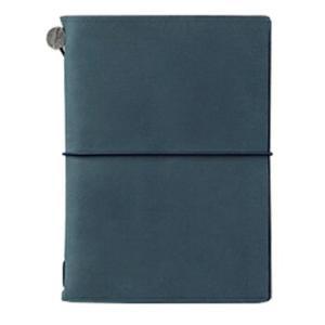 デザインフィル トラベラーズノート パスポートサイズ ブルー 15240006