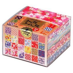 折り紙 30柄和紙千代紙 メール便不可の商品画像