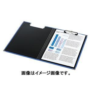 キングジム クリップボードBF(カバー付) A4ヨコ型 青 309BFアオ|bunguya|02