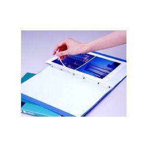 キングジム クリアファイル ヒクタス(透明) スティック・タイプ A4 タテ型 透明 7181THトウ|bunguya|02