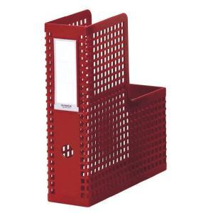 セキセイ ボックスファイル シスボックス 「タテ型」 A4 赤 SBX-85-20|bunguya