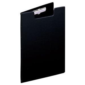 リヒトラブ クリップファイル B5 透明ポケット付 60枚収納可能 黒 F402クロ メール便可|bunguya