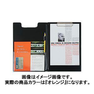 デルフォニックス ビュロー クリップボード オレンジ 500076-144 / 3セット|bunguya|02