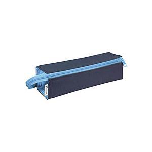 コクヨ KOKUYO ペンケース  シーツー  (トレータイプ) ネイビー×アクアブルー F-VBF122-1  コクヨ 筆箱|bunguya
