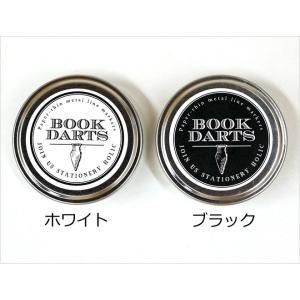 ブックダーツ 和気文具オリジナルデザイン缶 75個入り 3色ミックス 栞 しおり|bunguya|09