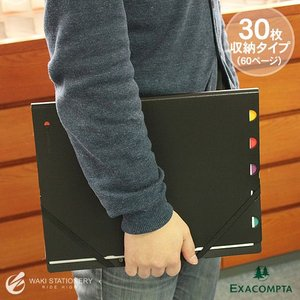 エクザコンタ EXACOMPTA エグザビュー EXAVIEW30 A4サイズ 30枚 60ページ|bunguya