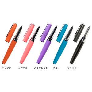 名入れ 無料 文房具オブザイヤー2012 エルバン カートリッジインク用ペン ブラス 文房具なら和気文具|bunguya|02
