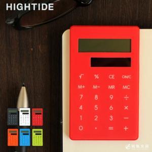 電卓 ハイタイド HIGHTIDE クリップ電卓|bunguya