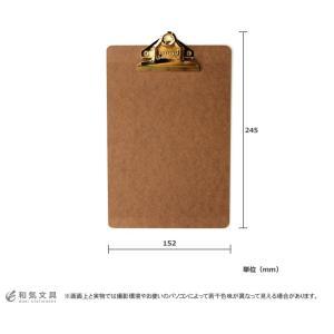 クリップボード ハイタイド penco ゴールド A5 / 名入れ可能(有料) bunguya 07