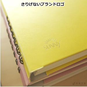 いろは出版 サニーノート SUNNY NOTE for business A5変形サイズ 2.5mm方眼 157ページ  リングノート  ページ番号付き  バレットジャーナル bunguya 03