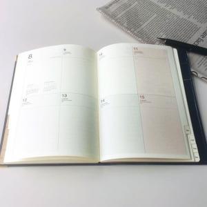 手帳 2020 9月始まり ラコニック B6 週間 ブロック インデックス ダイアリー LKS45-210|bunguya|03